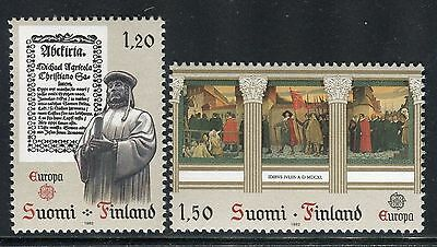 Finland 1982 Europa/culture/book/sculpture/art/academy/university/painting Mnh