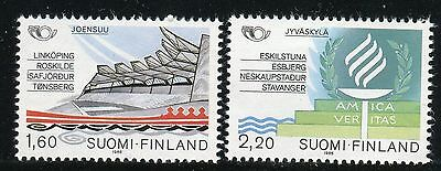 Finland 1986 Nordic Cooperation Issue/organization/architecture/torch Mnh