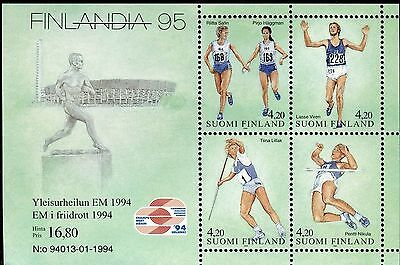 Finland 1994 European Track & Field Champ/finnish Athletes/lasse Viren/runners