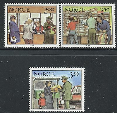 Norway 1984 Postal Service/sorting/delivery/letter/ Mnh
