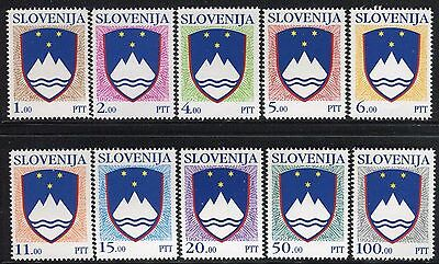 SLOVENIA 1992 NATIONAL ARMS/MOUNT TRIGLAV/STARS/EMBLEM/COAT of ARMS