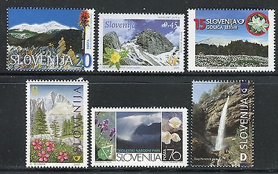 Slovenia 1995/2007 Mountains/nature/triglav Natl Park/flowers/waterfall/mangart