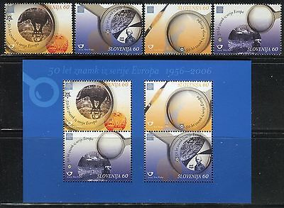 Slovenia 2006 European Philatelic/magnifying Glass/circus/elephant/ram/river
