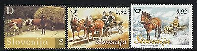 Slovenia 2006/08 Old Transport Vehicles/ox-Drawn Farm Wagon/horse-Drawn/sledge