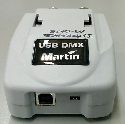 Martin Duo DMX USB to DMX Interface for lighting software M-PC