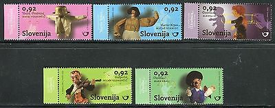 Slovenia 2010 Puppets/dolls/violin/handicraft/art/museum/traditional Culture