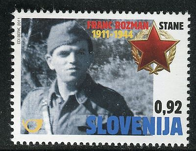 "Slovenia 2011 Frank Rozman ""stane""/partisan Commander/ii World War/military"