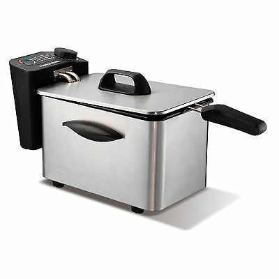 Morphy Richards 45081 Deep Fat Fryer 2Ltr Brushed Stainless Steel - Brand New