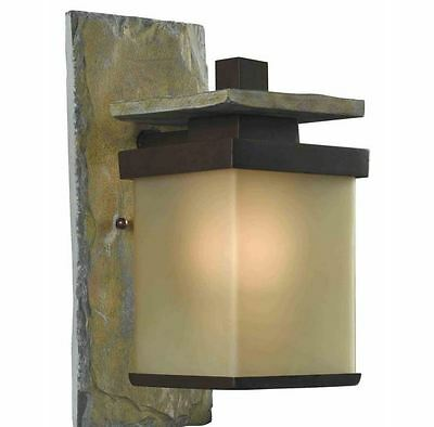 porch outdoor patio wall exterior lighting sconce light fixture lamp bronze new