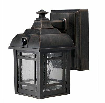 porch outdoor patio wall exterior lighting sconce light fixture lamp LED bronze