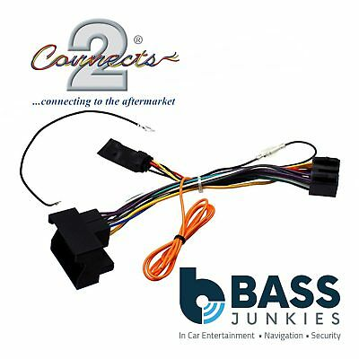 Mercedes ML 2004-2011 Car Stereo Quadlock Wiring Harness Ignition Adapter Lead