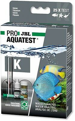JBL Potassium Water Test Set Kit K Aquarium Plant Nutrient Fertiliser Level