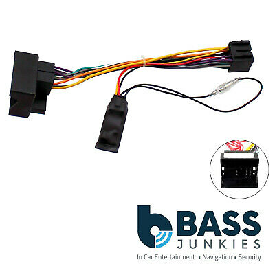 Ford Mondeo 2004-2014 Car Stereo Quadlock Wiring Harness Ignition Adapter Lead