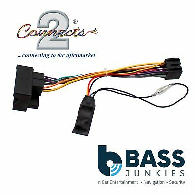 Ford S-Max 2005-2011 Car Stereo Quadlock Wiring Harness Ignition Adapter Lead