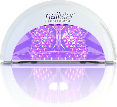 NailStar® Professional LED Nail Dryer and Nail Lamp for Gel with 4 x Timers