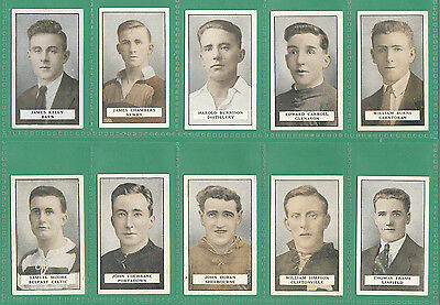 Football - Gallaher - Rare Set Of  100  Famous  Footballers  Cards  -  1925