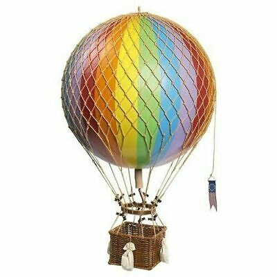 "Jules Verne Hot Air Balloon Rainbow Hanging Mobil 27.5"" Model Assembled"