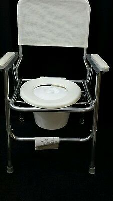 NEW WINCO Field Commode Portable Folding Chair #120 White