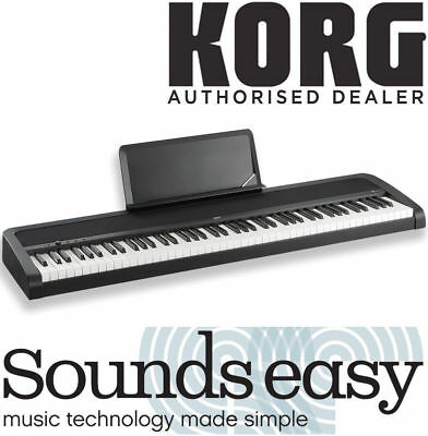 Korg B1 88 Key Digital Stage Piano Black Update from SP-170S