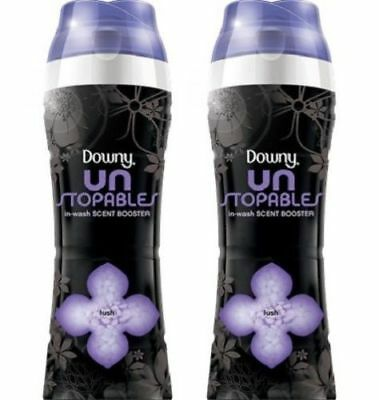 Downy Unstopables In-Wash Scent Booster Lush Scent 2 Bottle Pack