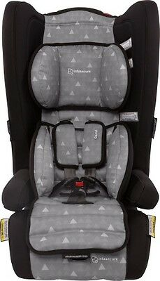 NEW  Infa Secure Comfi Treo CAPSULE BOOSTERS CAR SAFETY  Grey Swirl