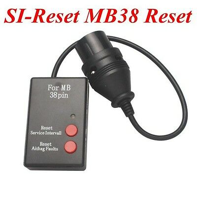 SI-Reset MB38 Service Interval Reset for Mercedes Benz 38pin Best Quality