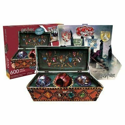 Harry Potter Quidditch Set Double Sided 600 Piece Jig-Saw Puzzle