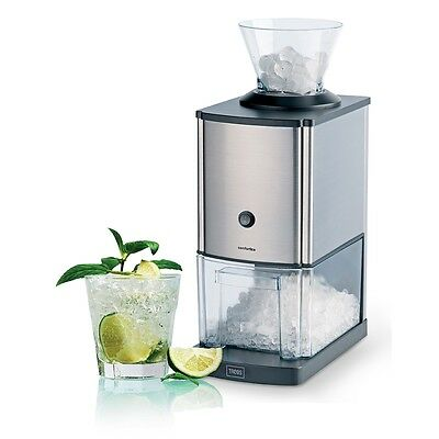 New Trebs Ice Crusher Shaver Maker Machine Stainless Steel 3 L