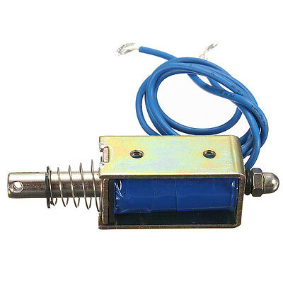DC 12V 10mm Push-Pull Actuator Frame Type Electromagnet Solenoid Electric Magnet