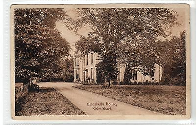 BALNAKEILLY HOUSE, KIRKMICHAEL: Perthshire postcard (C15944)