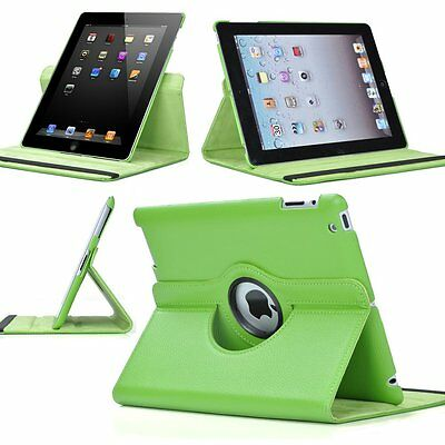 360 Degree Rotating Pu Leather Case Cover Stand for Apple Ipad 2 3 4 SY