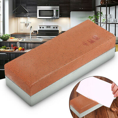 400/1500 Grit Dual Knife Sharpening Whetstone Sharpener Kitchen Water Wet Stone