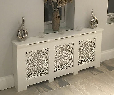 Gothic Radiator Cabinet/Cover - Circles/Slats/Diamonds/Stars/Baroque Grilles