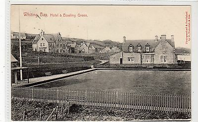 HOTEL & BOWLING GREEN, WHITING BAY: Isle of Arran postcard (C15465)