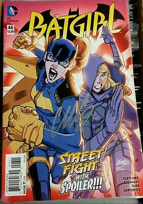 Dc batgirl #46 signed by Cameron Stewart with coa