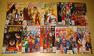Justice League of America #0 + 1~14 + Special (DC Comics 2006)