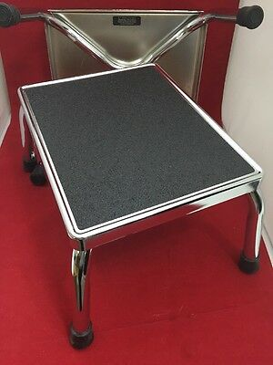 NEW LOT OF 2 E.F. BREWER Straight Steel Step Stool FG11200-2