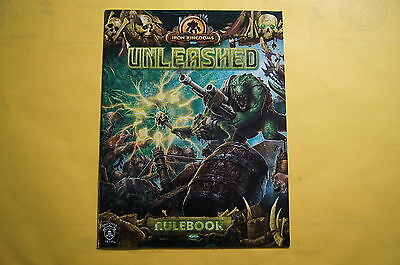 Privateer Press Iron Kingdoms RPG Unleashed Adventure Kit Rulebook Rules Booklet
