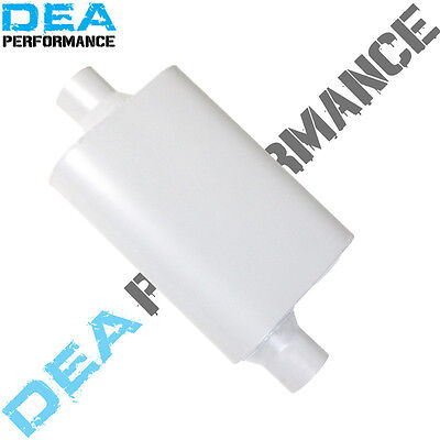 """Dea Stainless Steel Muffler-Universal Fitment Inlet 2.5 """" /outlet 2.5"""" Inch"""
