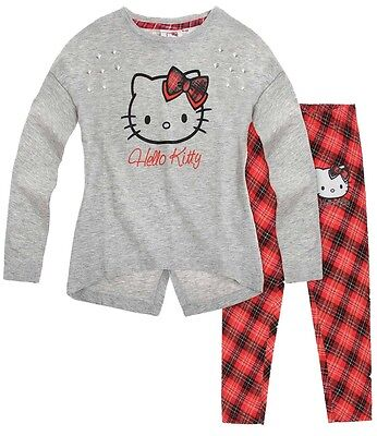 Hello Kitty Tunic with Leggings Set Grey