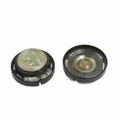 20mm Magnetic Type Round Plastic Shell Speaker 8 Ohm 0.25W 2 pcs SY