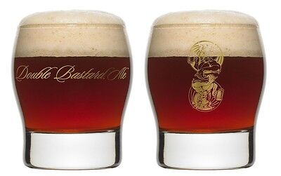 New Stone Brewing Double Bastard Specialty Beer Glass 9oz
