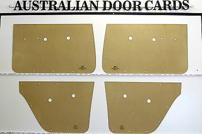 Holden EH, EJ Sedan, Wagon Door Cards / Trim Panels. Quality Masonite