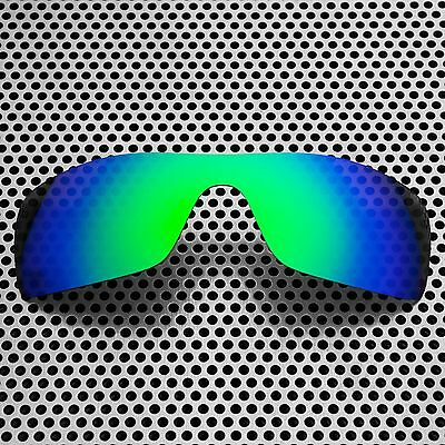 New Volt Polarized Green Replacement Lenses for Oakley Batwolf
