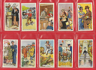 Novelty  -  Ardath Tobacco Co. - Set  Of  50  Figures  Of  Speech  Cards  - 1936