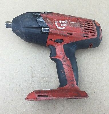 """For PARTS OR REPAIR ONLY Hilti SIW 18T-A 1/2"""" Impact Wrench Ships FREE"""