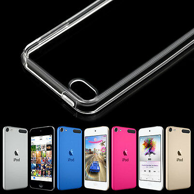Transparent Case for iPod Touch 5th 6th Apple iTouch 6 Crystal Clear Soft Cover