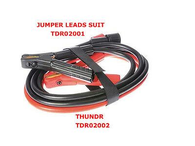 Jumper Leads To Suit Trd02001 2000Mm Long Jump Leads Jump Cables Jumper Cables