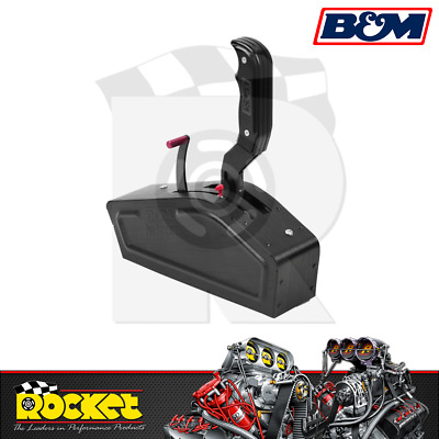 B&M Stealth Pro Ratchet Shifter (GM 3 & 4 Speed Trans, Ford, Chrys) - BM81120