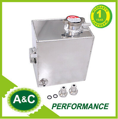 2.5L Aluminum Coolant Expansion Overflow Reservoir Tank For Holden Commodore